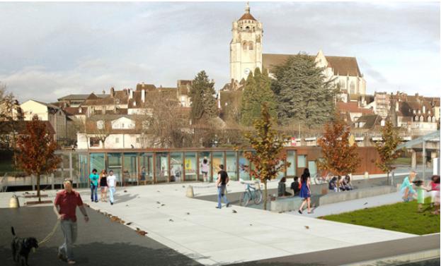 L'office de tourisme de Dole va devenir un argument touristique supplémentaire pour la ville.