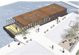 le futur office de tourisme de Dole