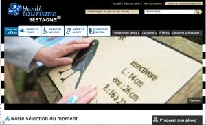 Tourisme Bretagne a lancé handi-tourismebretagne.com